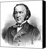 Theorist Canvas Prints - Claude Bernard, French Physiologist Canvas Print by Science Source