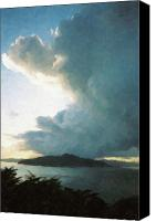 Sausalito Canvas Prints - Clearing Storm Canvas Print by Frank DiMarco
