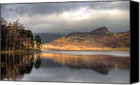 Cloud Glass Canvas Prints - Clearing Weather At Blea Tarn Canvas Print by Terry Roberts Photography