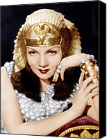 1930s Movies Canvas Prints - Cleopatra, Claudette Colbert, 1934 Canvas Print by Everett