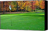 Sports Canvas Prints - Cleveland Golf Canvas Print by Robert Harmon