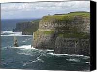 Shadows Canvas Prints - Cliffs of Moher 2 Canvas Print by Mike McGlothlen