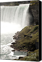 Amanda Barcon Canvas Prints - Close to the Falls Canvas Print by Amanda Barcon