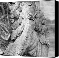 Berlin Canvas Prints - Close Up Of Wing Of Statue, Germany Canvas Print by This Is About My Way To See Light & Form In 2 Dimensions