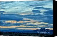 Angry Sky Canvas Prints - Closing of the day Canvas Print by Tamera James