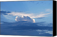 Michele Carter Canvas Prints - Clouds Canvas Print by Michele Carter
