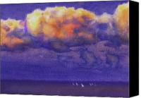 Valeriy Mavlo Canvas Prints - Clouds Canvas Print by Valeriy Mavlo