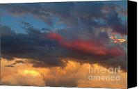 Skyscape Canvas Prints - Cloudscape Before the July 13th Storm 24 Canvas Print by James Bo Insogna