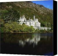 Monasticism Canvas Prints - Co Galway, Kylemore Abbey Canvas Print by The Irish Image Collection