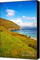Achill Island Canvas Prints - Coast at Keem Bay on Achill Island Canvas Print by Gabriela Insuratelu