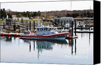 Cape Cod Scenery Canvas Prints - Coast Guard Canvas Print by Extrospection Art