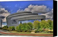 Photographers Atlanta Canvas Prints - Cobb Energy Center Canvas Print by Corky Willis Atlanta Photography