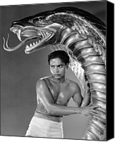 Fod Canvas Prints - Cobra Woman, Sabu, 1944 Canvas Print by Everett