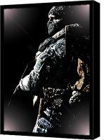 Anibal Diaz Canvas Prints - COD by GBS Canvas Print by Anibal Diaz