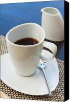 Serve Photo Canvas Prints - Coffee Sir Canvas Print by Atiketta Sangasaeng