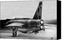 Royal Air Force Canvas Prints - Cold War Guardian Canvas Print by Lyle Brown