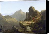 Cole Canvas Prints - Cole: Last Of The Mohicans Canvas Print by Granger