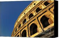 Ruin Canvas Prints - Coliseum. Rome Canvas Print by Bernard Jaubert
