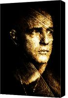 Horror Canvas Prints - Colonel Kurtz Canvas Print by Andrea Barbieri