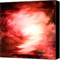 John Krakora Art Canvas Prints - Color 191 Canvas Print by John Krakora