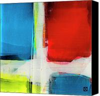 Concrete Canvas Prints - Color Cube 8 Canvas Print by Brian Allan