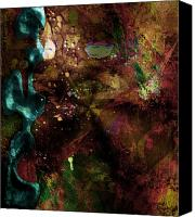 Monroe Mixed Media Canvas Prints - Color Matter Canvas Print by Monroe Snook