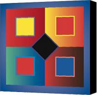 Color Harmony Canvas Prints - Color Search  Canvas Print by James Maltese
