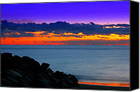 Rick Blood Canvas Prints - Colorful Dawn Canvas Print by Rick  Blood