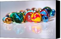 Spheres Canvas Prints - Colorful Marbles Canvas Print by Carlos Caetano