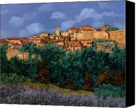 Special Canvas Prints - colori di Provenza Canvas Print by Guido Borelli