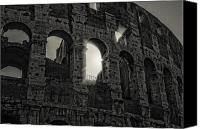 Fineartam Canvas Prints - Colosseum Canvas Print by Michael Avory