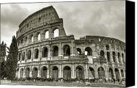 Rome Canvas Prints - Colosseum  Rome Canvas Print by Joana Kruse