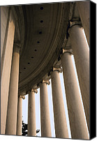 Prime Canvas Prints - Columns Surround The Jefferson Statue Canvas Print by Rex A. Stucky