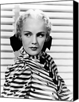 Publicity Shot Canvas Prints - Come And Get It, Frances Farmer, 1936 Canvas Print by Everett