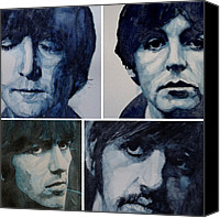George Harrison Canvas Prints - Come Together Canvas Print by Paul Lovering