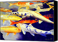 Chinese Canvas Prints - Come Together Canvas Print by Robert Hooper