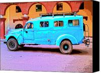 Havana Daydreams Canvas Prints - Command Vehicle Canvas Print by Dominic Piperata