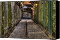 Grandkin Studios Photo Canvas Prints - Condemned Canvas Print by Jeffrey Campbell