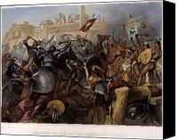 Capture Canvas Prints - Conquest Of Mexico, 1521 Canvas Print by Granger