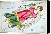 Wing Mirror Canvas Prints - Constellation: Virgo, 1825 Canvas Print by Granger