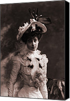 Ambition Canvas Prints - Consuelo Vanderbilt 1877-1964 Canvas Print by Everett