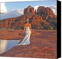 Sedona Canvas Prints - Contemplation Canvas Print by Gary Kaylor