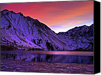 Morrison Canvas Prints - Convict Lake Sunset Canvas Print by Scott McGuire