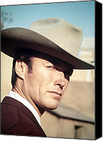 Films By Don Siegel Canvas Prints - Coogans Bluff, Clint Eastwood, 1968 Canvas Print by Everett