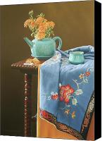Antique Pastels Canvas Prints - Cookies Fortune Canvas Print by Barbara Groff