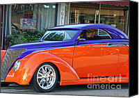 California Hot Rod Canvas Prints - Cool Cruisin  Canvas Print by Tap On Photo