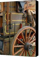 Chuck Wagon Canvas Prints - Cool Wagon Canvas Print by Robert Anschutz
