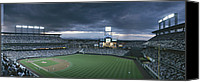 Baseball Canvas Prints - Coors Field, Denver, Colorado Canvas Print by Michael S. Lewis