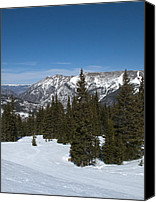 Colorado Mountains Canvas Prints - Copper Mountain Resort - Colorado Canvas Print by Brendan Reals