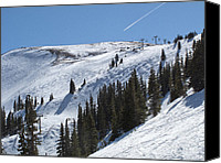 Colorado Mountains Canvas Prints - Copper Mountain Resort - Union Bowl - Colorado Canvas Print by Brendan Reals